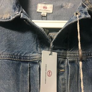 Ag Adriano Goldschmied Jackets & Coats - adriano goldschmied jean jacket